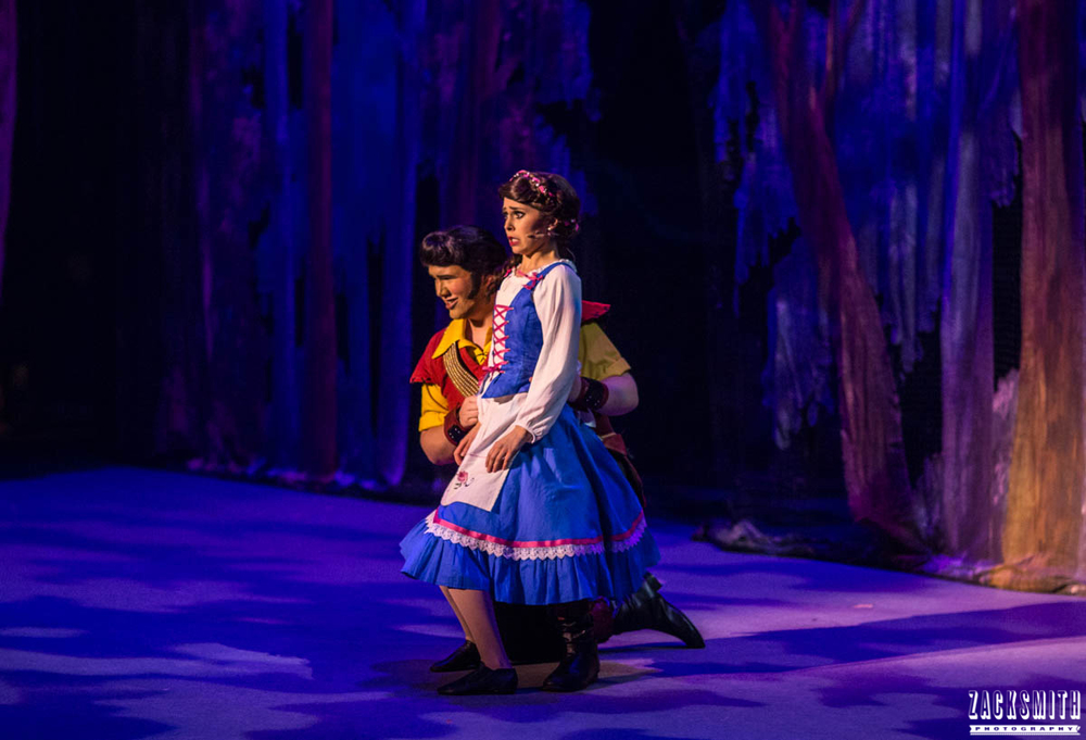 Beauty and the Beast The Performing Arts Academy Talent Performance Photography Zack Smith Photographer Chalmette Proposal Marriage Musical Theater Gaston Belle