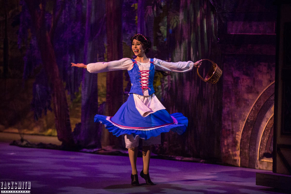 Beauty and the Beast The Performing Arts Academy Talent Performance Photography Zack Smith Photographer Chalmette Belle Spinning Theater Musical