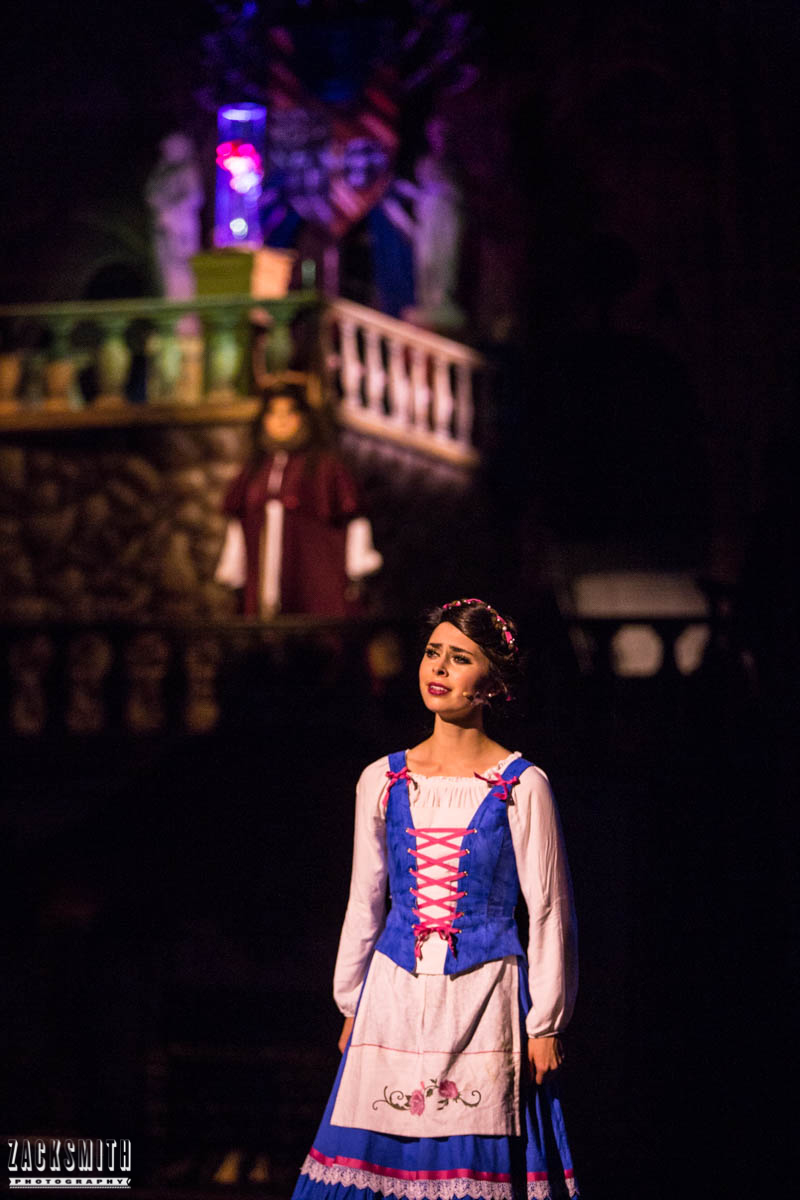 Beauty and the Beast The Performing Arts Academy Talent Performance Photography Zack Smith Photographer Chalmette Musical Theater Belle West Wing