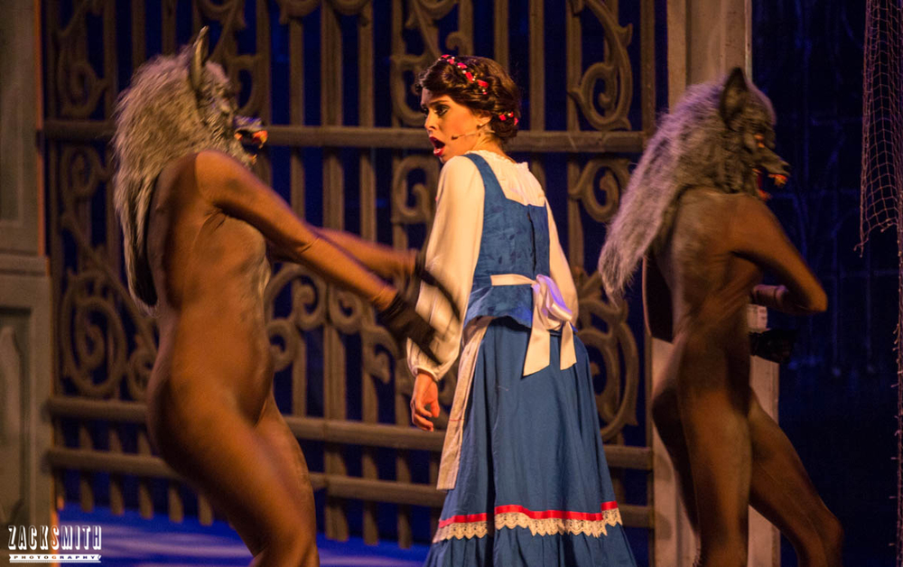 Beauty and the Beast The Performing Arts Academy Talent Performance Photography Zack Smith Photographer Chalmette Musical Theater belle wolves