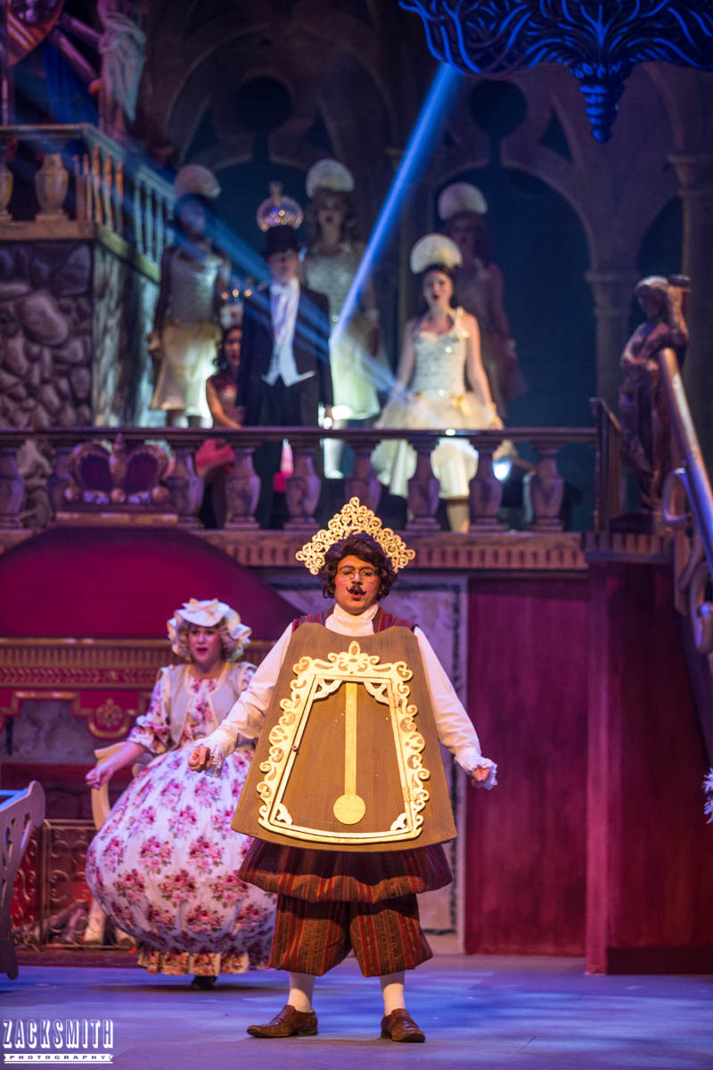 Beauty and the Beast The Performing Arts Academy Talent Performance Photography Zack Smith Photographer Chalmette Musical Theater Cogsworth Mrs. Pots Ensemble