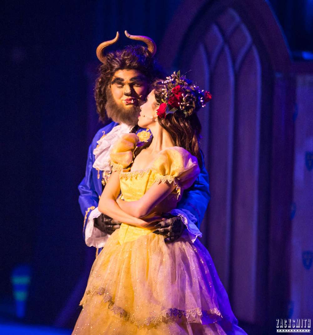 Beauty and the Beast The Performing Arts Academy Talent Performance Photography Zack Smith Photographer Chalmette Musical Theater Belle Beast Dance love