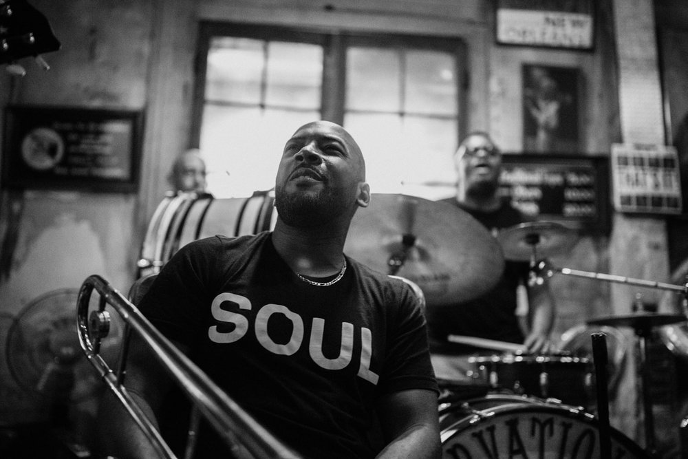 504ever All Stars opened up the weekend at the famed Preservation Hall, ushering in the soul and spirit of an evolving music brass tradition in New Orleans.