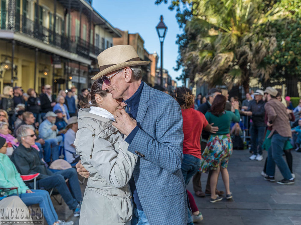 Dancing in the Dusk at French Quarter always saves the last dance...for you.
