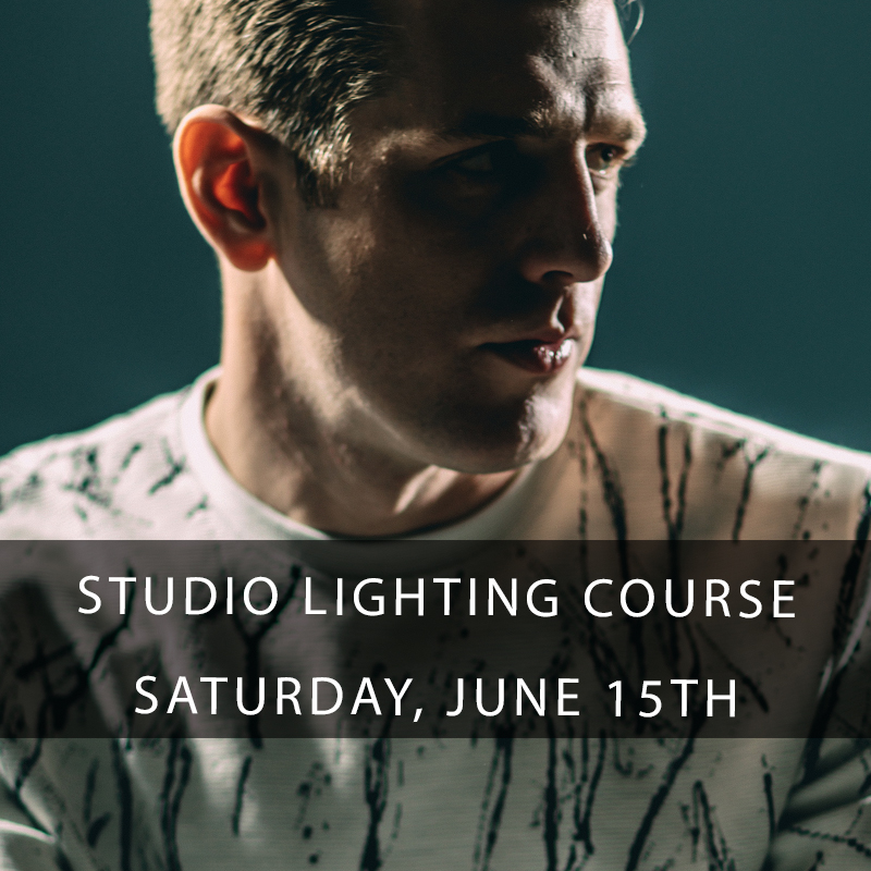 Studio Portrait Photography - Learn how to use studio strobes both in the studio and in the field for this exclusive hands-on photography course. Participants will learn the mechanics and shoot with strobes, softboxes, grids, reflectors, and how to shoot tethered in this studio photography class. Extremely small class size, you don't want to miss this course!
