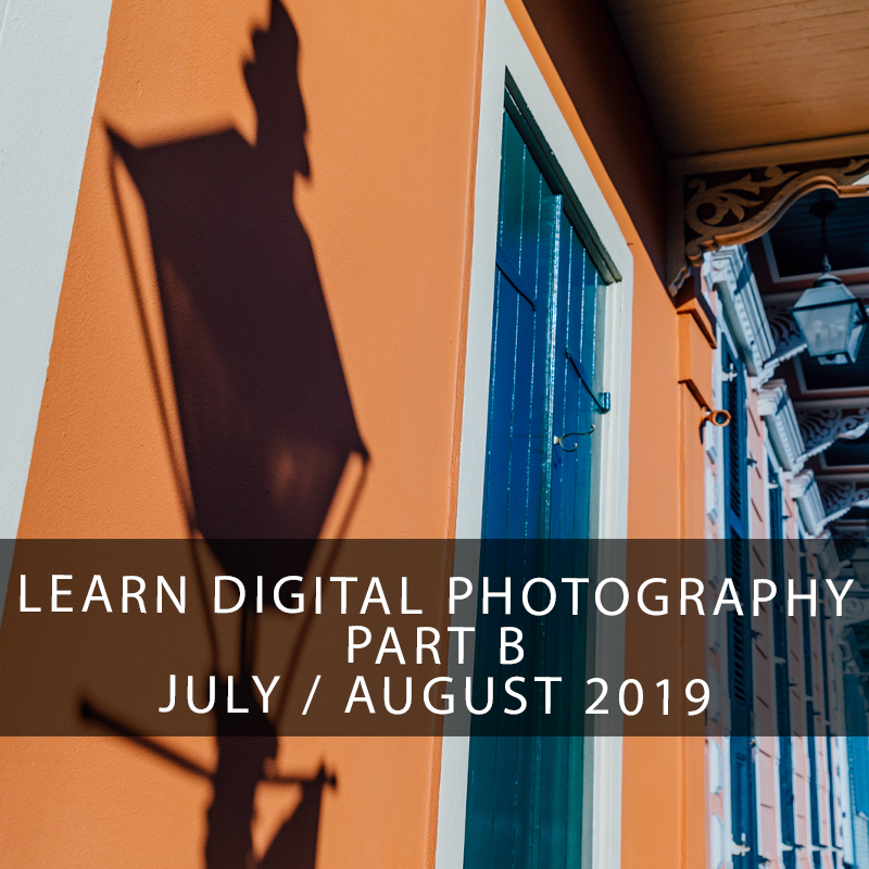 Learn Digital Photography in New Orleans - Learn how to use your digital SLR or mirrorless camera to capture the high quality images you deserve. Learn composition techniques, how to use aperture, shutter speed, and editing in Lightroom to produce your best photography yet. This is an active shooting class with open critique and weekly challenges to spark your creative fire and hone your technical skill.
