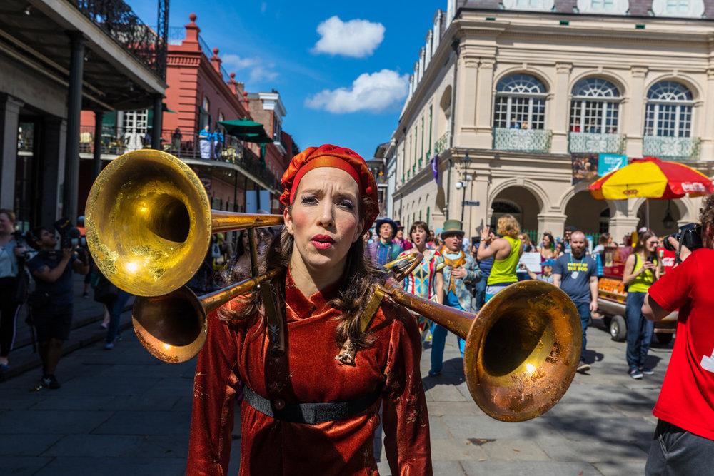 Cirque Du Soleil parade