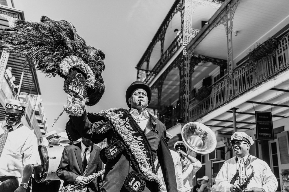 Olympia Brass Band, New Orleans