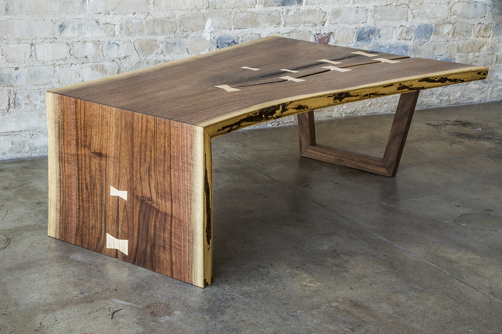 Waterfall Slab Coffee Table