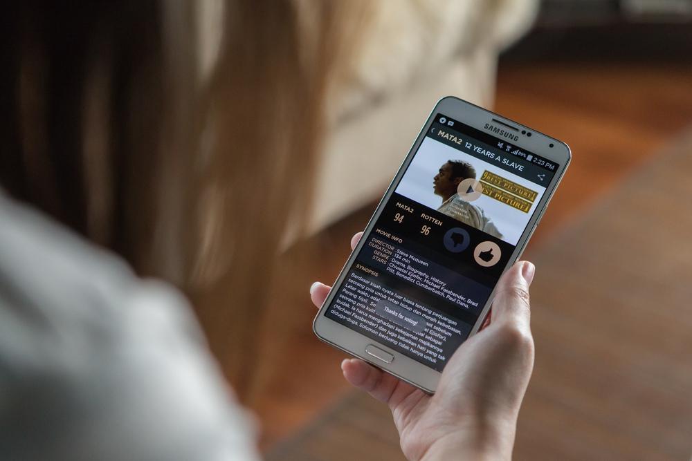 MATA2 4.0 running on Android.