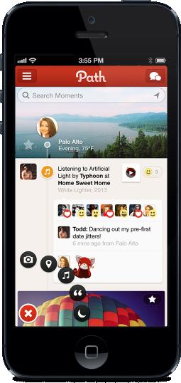 Path, sets the bar high on UI/UX design.