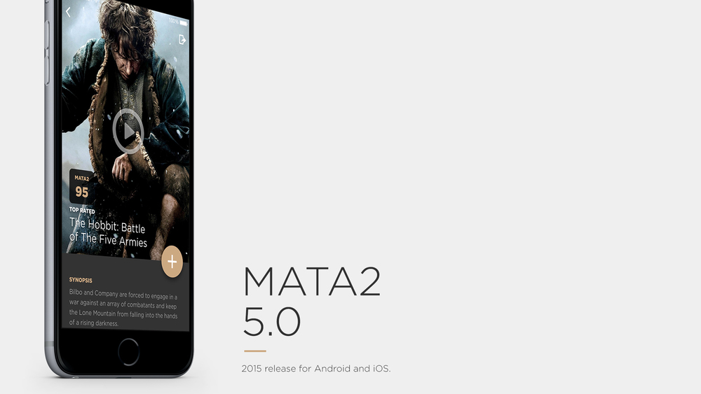 Mata2 5.0 with Material Design.