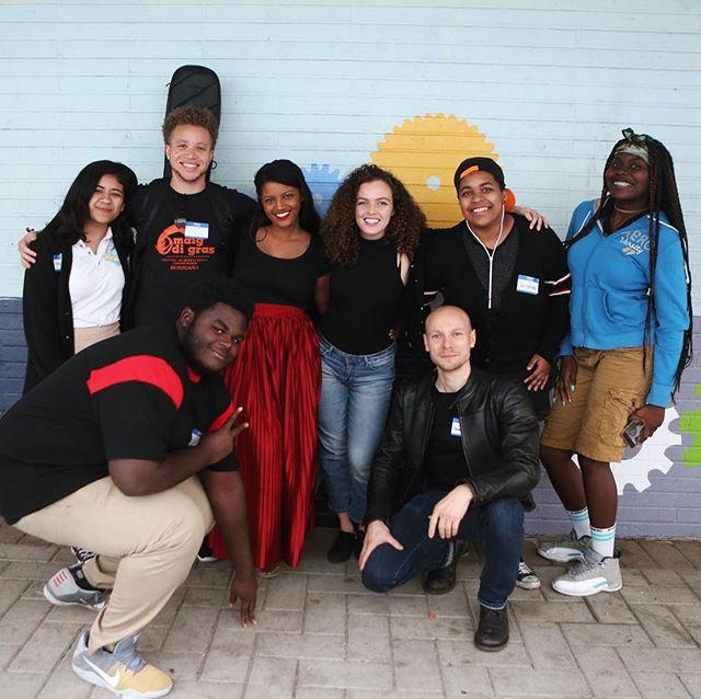Meet a few of the new #playwithmusic 2017 crew ! . #musiceducation #innercityarts #musicmatters #thefuture #afterschoolprogram #musicschool #musiciscool #equalopportunity #savethearts #artivism #bethechange #artsmatter