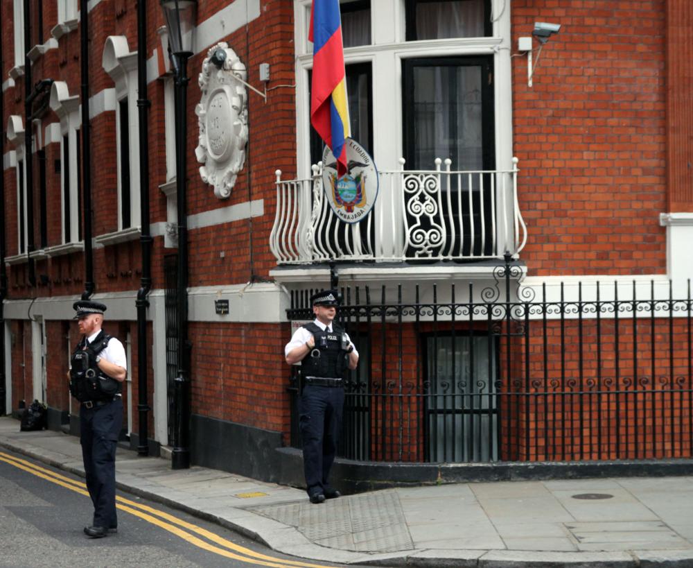 EcuadorianEmbassy, London Credit: Graham Lanktree