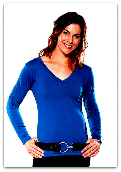 Merino Top Vee Neck