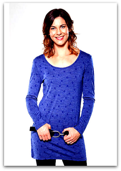 Merino tunic | Womens merino knitwear NZ