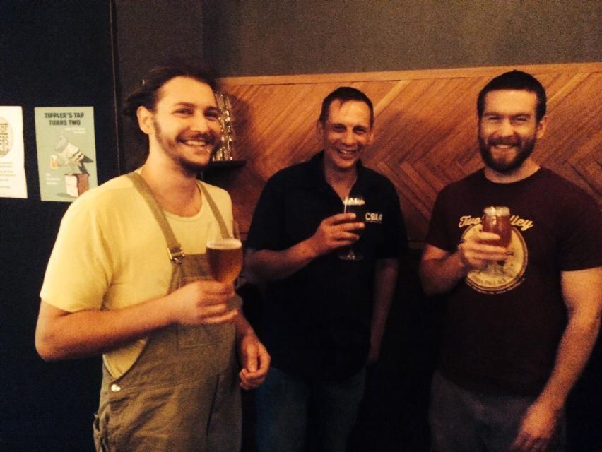 Simeon Bonetti, Ian Watson and Mark Howes. Photo courtesy of Dan Rawlings.