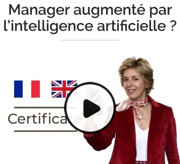 """Inscriptions ouvertes pour le nouveau Mooc """"Manager augmenté par l'intelligence artificielle ?"""""""