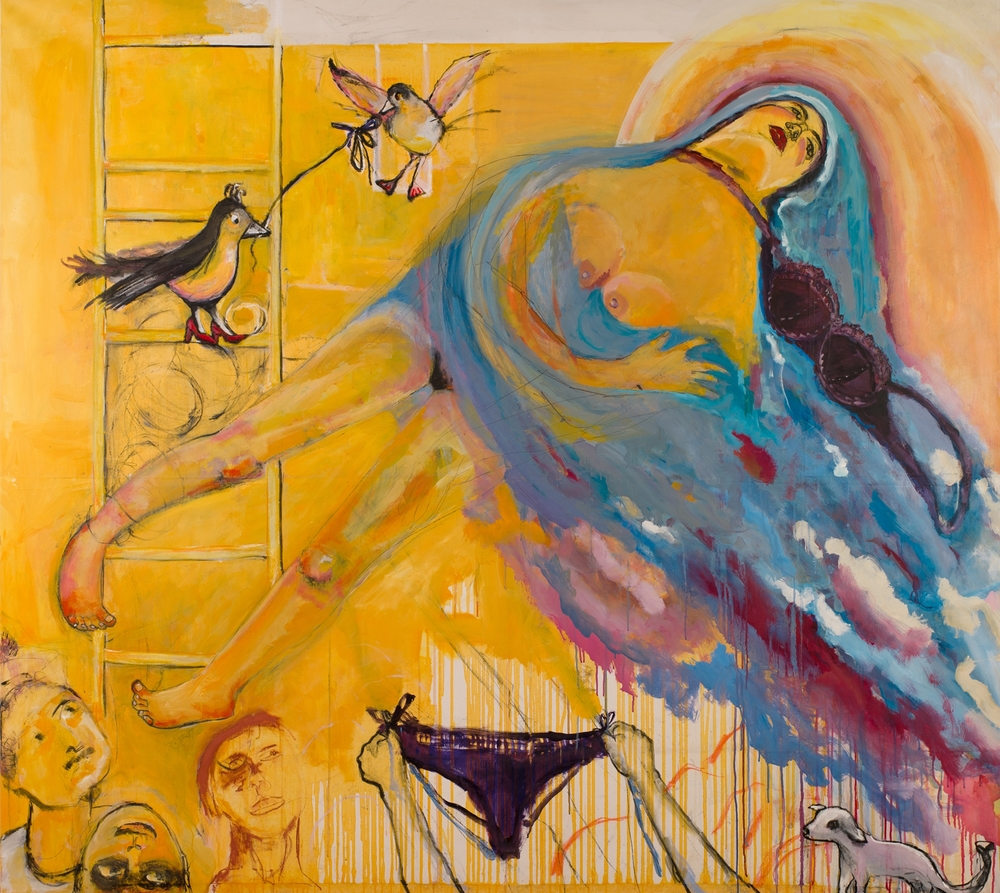 THE ASCENSION   oil on canvas, 200x180cm