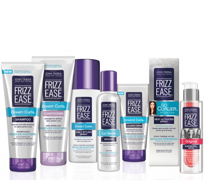 1. For Frizz Control: John Frieda's Frizz Ease Products
