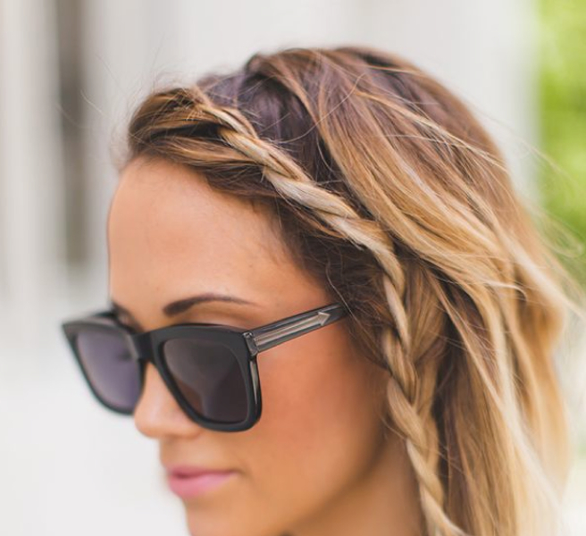 5. For Summer Style: A delicate side braid