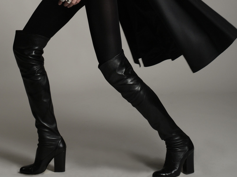 6. Over-the-knee boots