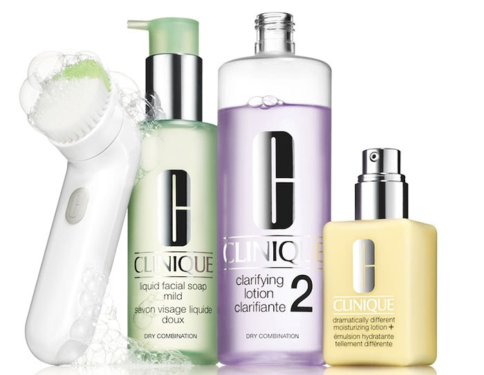 1. Clinique Sonic System Purifying Cleansing Brush, $89.50
