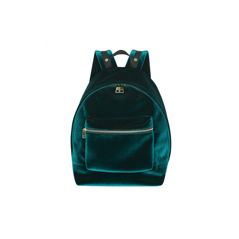 3. Sandro Paris Avril Velvet Backpack, $340