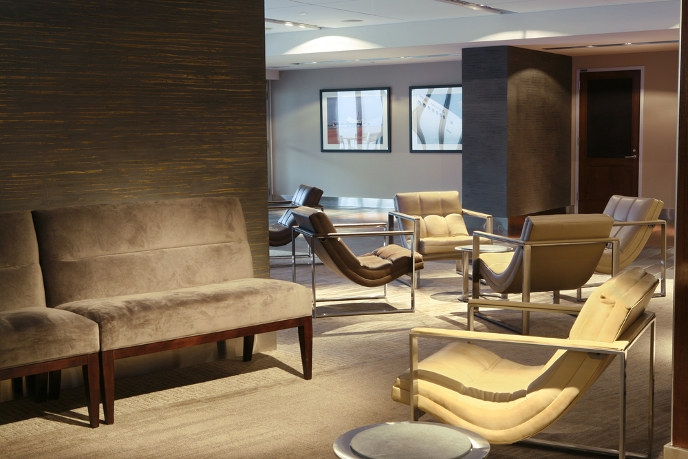 Villency Design Group oversaw the interior design of the club level luxury suites at Citi Field, home of the NY Mets.