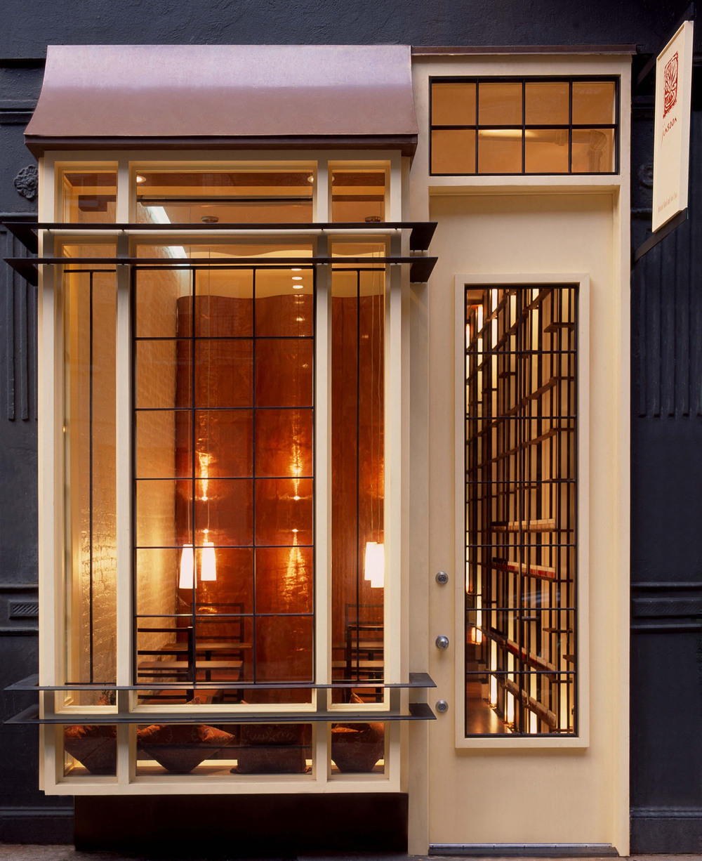The storefront of Jin Soon's Upper East Side nail spa, located at421 East 73rd Street.