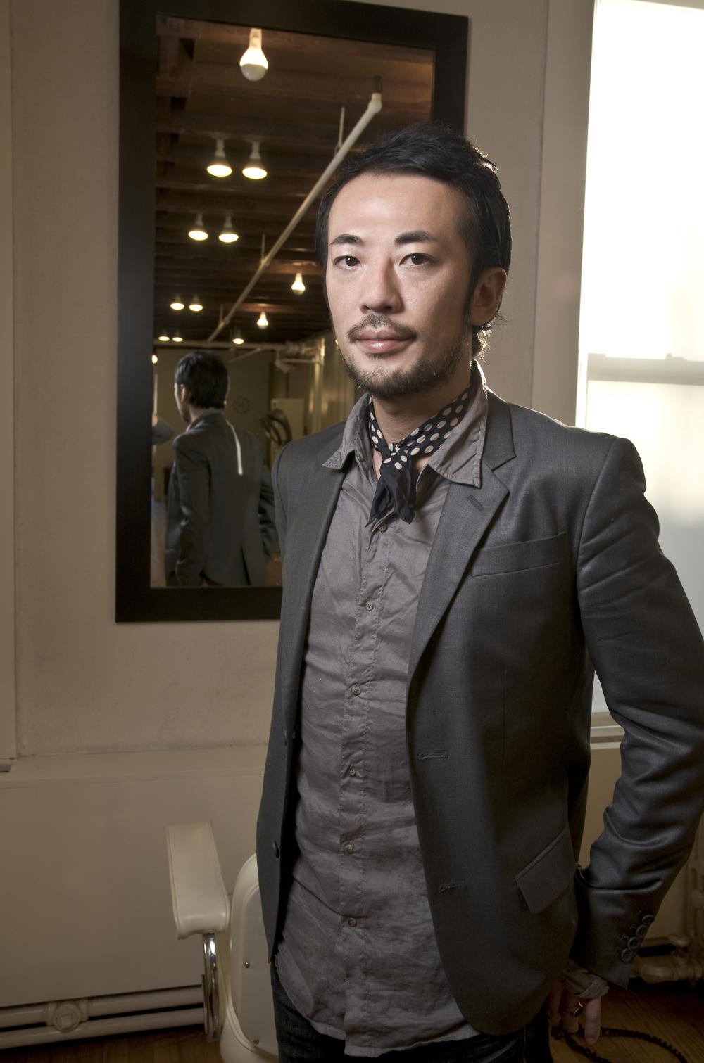 Takamichi Saeki is known for his razor sharp cuts.