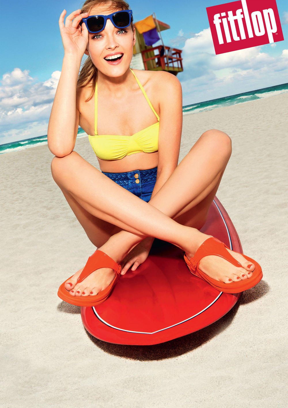 Tracy Murphy for FitFlop's 2014 Autumn/Winter campaign