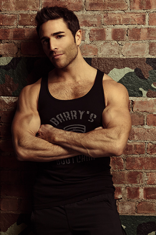 Joey Gonzalez of Barry's Bootcamp