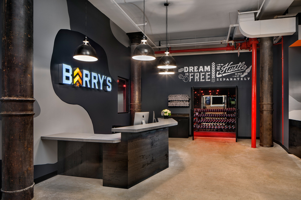 The Noho outpost of Barry's Bootcamp (pictured) is located at 419 Lafayette St.