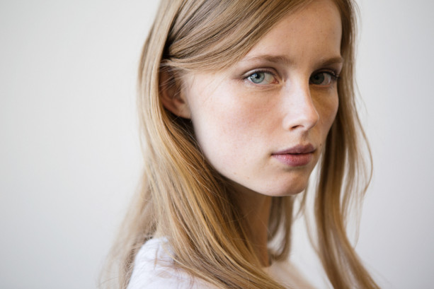 Fresh-faced beauty was also seen on the models at Jason Wu. Photo courtesy of Into the Gloss.