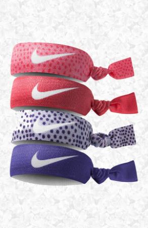 Nike Print Hairbands (4-Pack), $10, nordstrom.com