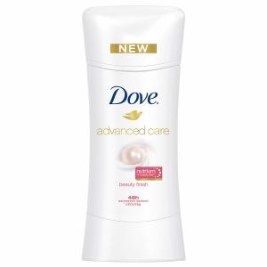 Dove Advanced Care Anti-Perspirant Deodorant, $5.79