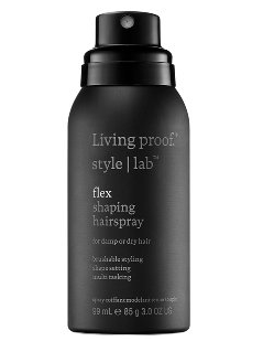 Living Proof Flex Shaping Hairspray, 3oz, $14, sephora.com