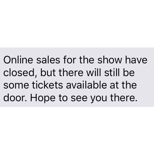 **TEMPORARY POST** Online sales for 'ALS ride for Life Fest' tonight have closed, but there will still be some tickets available at the door. Hope to see you there! #quarterhorseband #quarterhorsemusic #band #music #longisland #newyork #supportlocalmusic #ALS