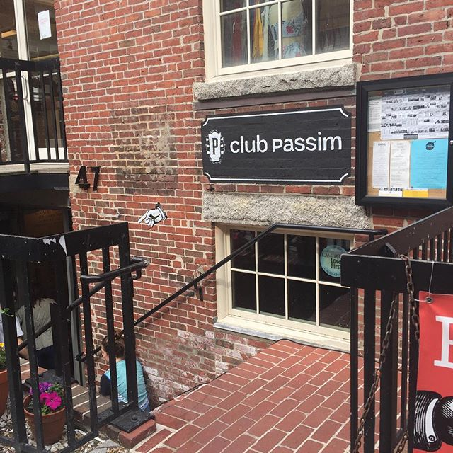 We're here @clubpassim! We're stoked about Campfire fest! We'll be playing on Sunday, May 27th at 12:00pm. C'mon on down and hang with us if you're in the area. #quarterhorseband #quarterhorsemusic #band #music #rock #folk #americana #longisland #newyork #supportlocalmusic #clubpassim