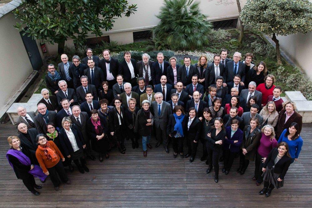 Membres élus   CONSEIL NATIONAL DES BARREAUX
