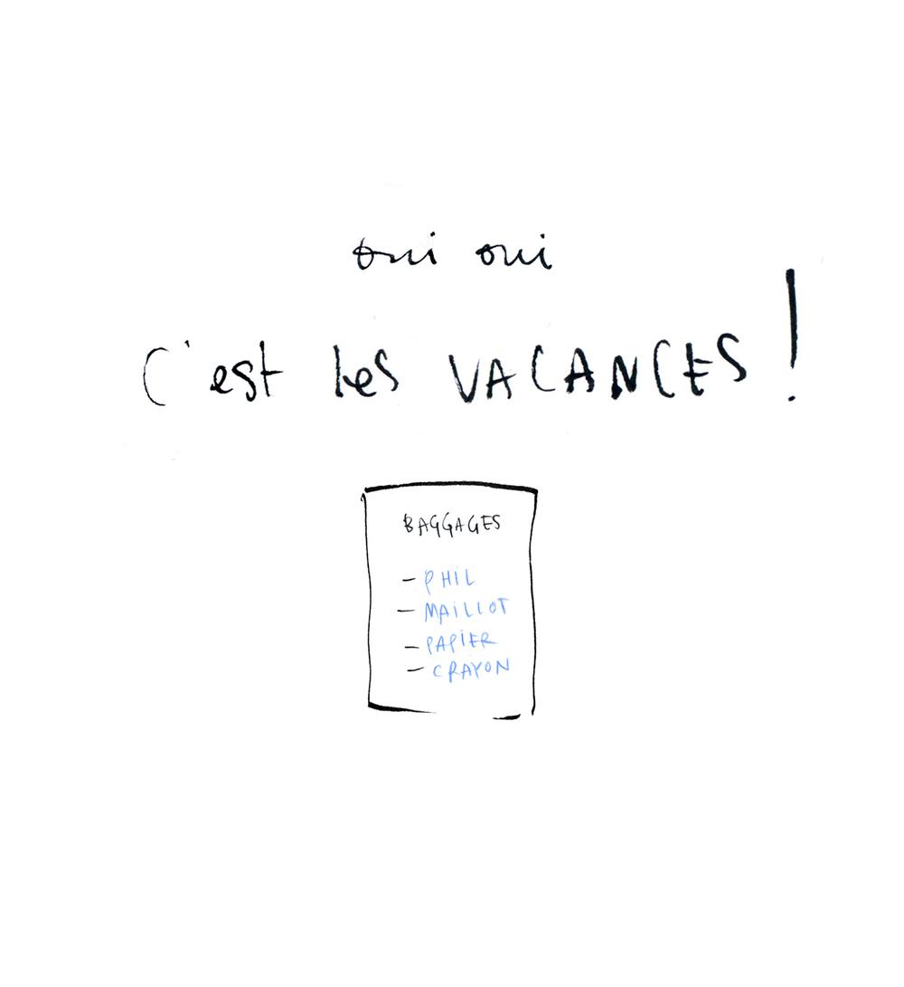 Vacances!!!