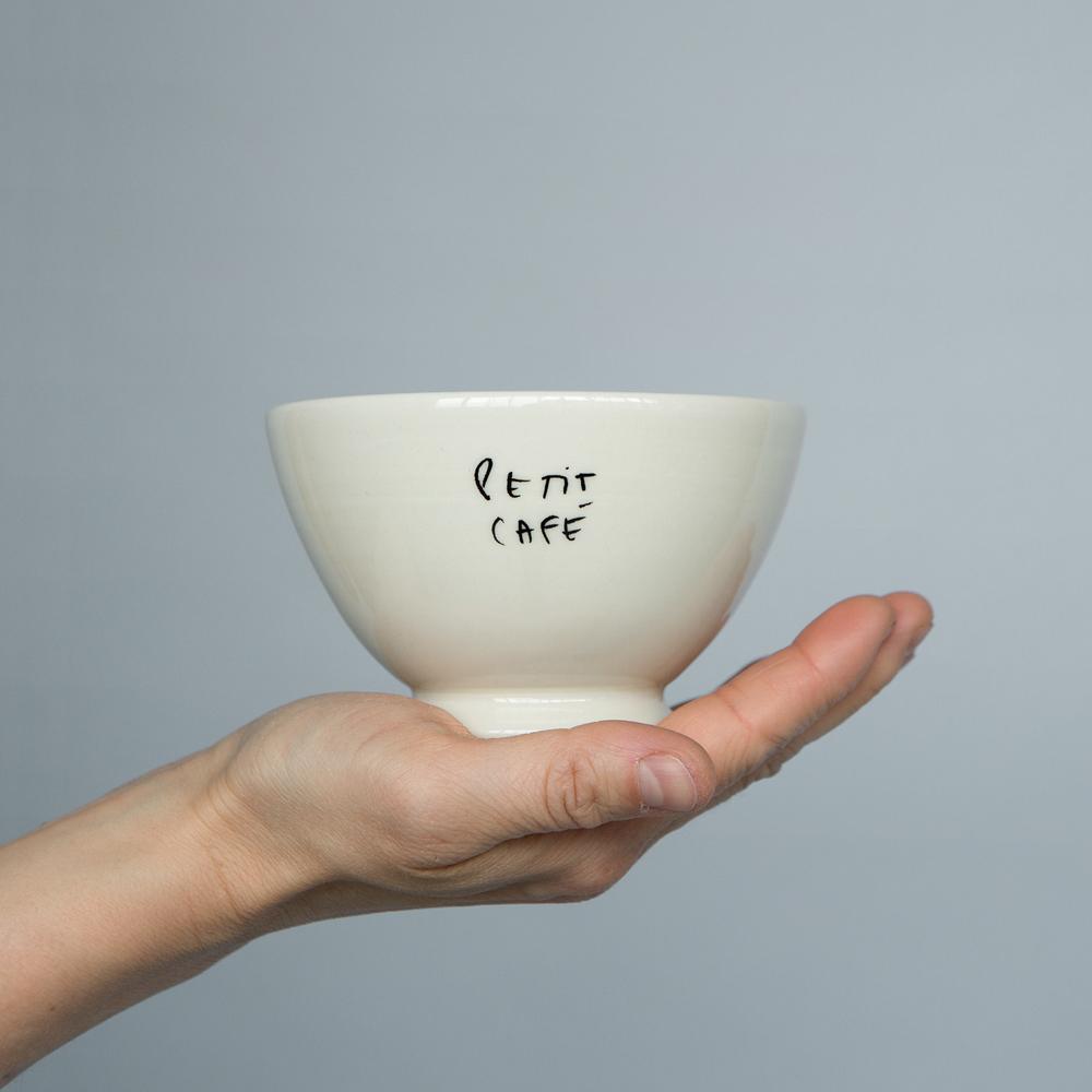 Petit bol à café Prune