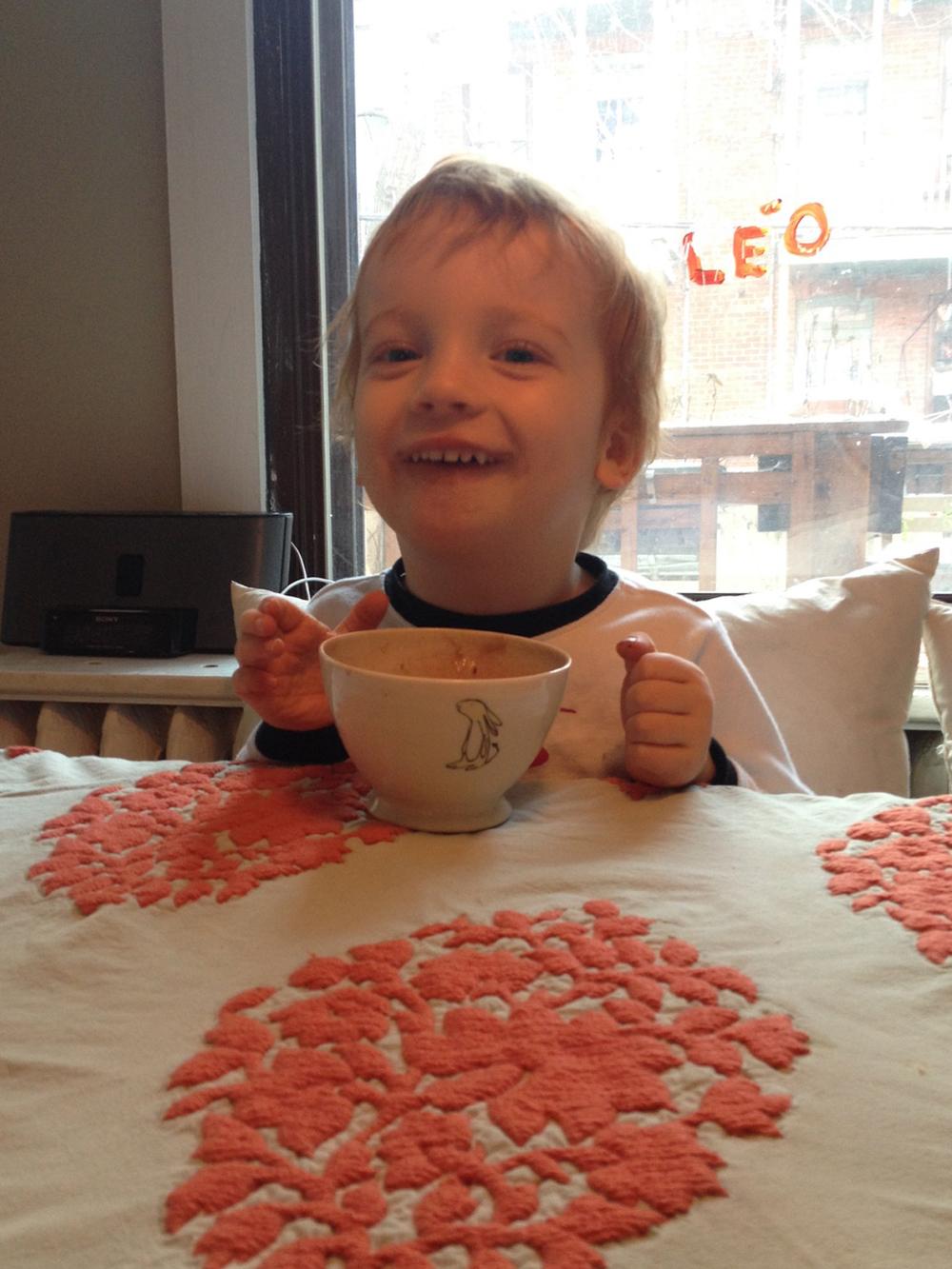 Leo chocolat Prune