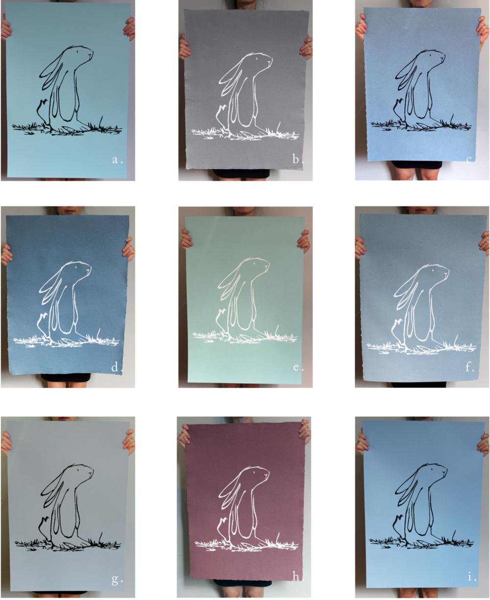 Serigraphies papier Prune