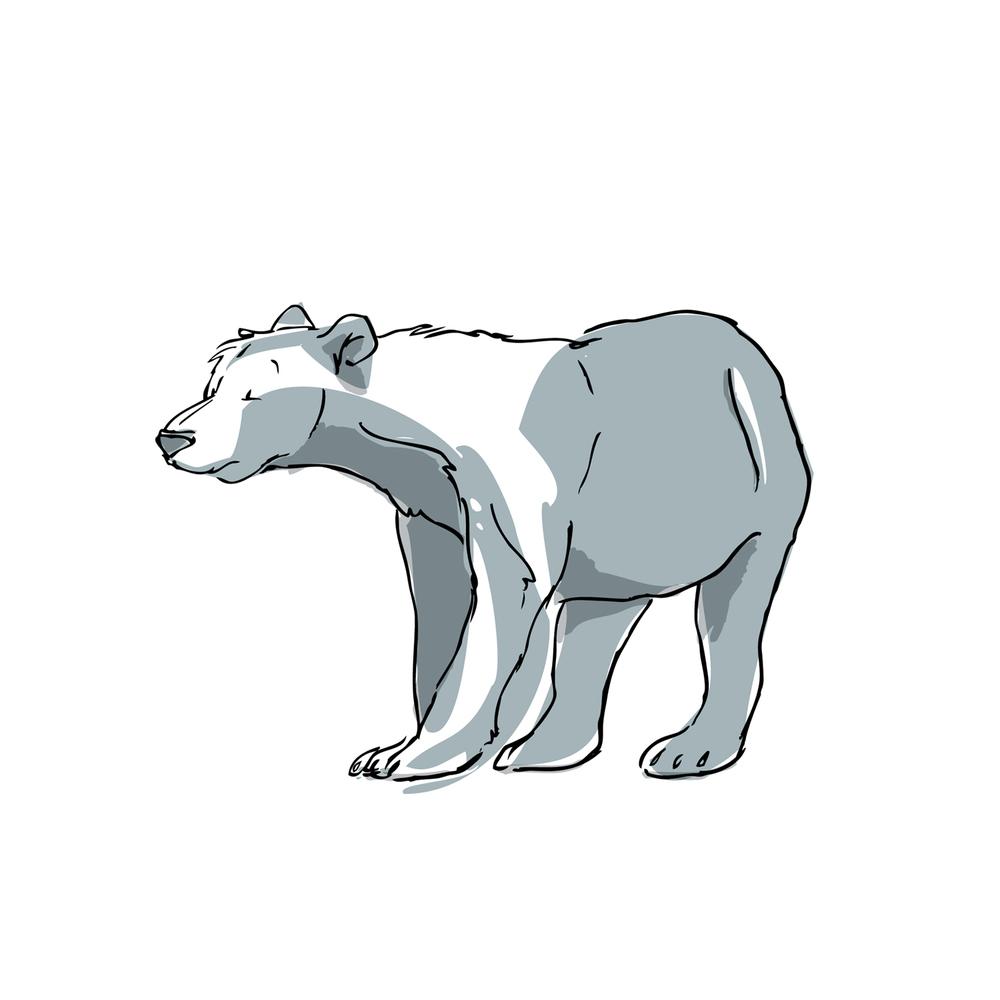l'ours bleu