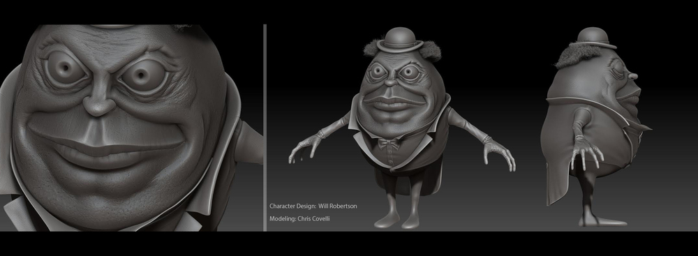 Raji - Character Design, Tiny Elevator