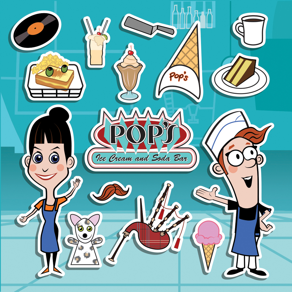 Pop's Fun Pack - Character Design