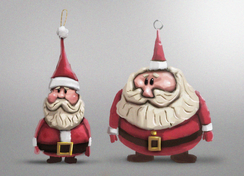 Santas - Not to Scale