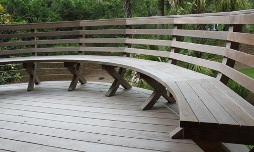 Basket Benches
